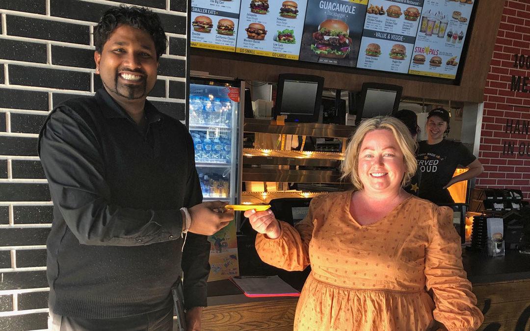 Congrats Free Burgers Winners!